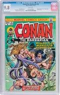 Bronze Age (1970-1979):Superhero, Conan the Barbarian #32 (Marvel, 1973) CGC NM/MT 9.8 White pages....