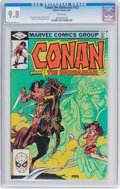 Modern Age (1980-Present):Miscellaneous, Conan the Barbarian #133 (Marvel, 1982) CGC NM/MT 9.8 White pages....