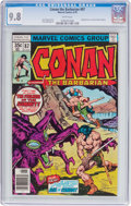 Bronze Age (1970-1979):Miscellaneous, Conan the Barbarian #87 (Marvel, 1978) CGC NM/MT 9.8 Whitepages....