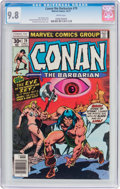 Bronze Age (1970-1979):Miscellaneous, Conan the Barbarian #79 (Marvel, 1977) CGC NM/MT 9.8 Whitepages....