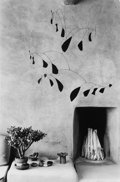 Photographs, Myron Wood (American, b. 1921). Calder Mobile, Albuquerque, New Mexico, 1980. Gelatin silver. 18-3/4 x 12-1/4 inches (47...