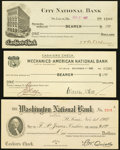 Obsoletes By State:Missouri, Missouri - Lot of 3 1907 St. Louis Clearing House Certificates.. ... (Total: 3 notes)