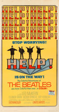 "Movie Posters:Rock and Roll, Help! (United Artists, 1965). Three Sheet (41"" X 81"").. ..."