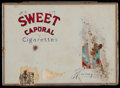 Baseball Collectibles:Others, Early 20th Century Sweet Caporal Tin. ...