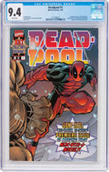 Modern Age (1980-Present):Superhero, Deadpool #1 (Marvel, 1997) CGC NM 9.4 White pages....