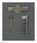 Silver Smalls:Other , Two American Silver Brooches and a Book Mark. Marks of Shiebler,New York, NY; Wood & Hughes, New York, NY; La Pierre, Newar...(Total: 3 Items)