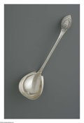 Silver Flatware, American:Shiebler, An American Silver Ladle. Mark of George W. Shiebler, New York, NY,1874. The 'Princess' pattern ladle, monogram to the re...