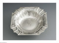 Silver & Vertu:Hollowware, An American Silver Bowl. Mark of Tuttle Silversmiths, Boston, MA, Early Twentieth Century. The square edged bowl with engr... (Total: 1 Item Item)
