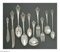 Silver Flatware, American:Wallace , A Forty-Four Piece American Silver Flatware Set. Mark of Wallace& Sons Mfg., Wallingford, CT, Mid-Twentieth Century. The ...(Total: 44 Items)