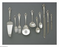 Silver Flatware, American:Wallace , A 153-Piece American Silver Flatware Set. Mark of WallaceSilversmiths, Wallingford, CT, c.1940. The 'Grande Baroque' patt...(Total: 151 Items)