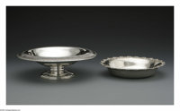 An American Silver Compote and Bowl Mark of Wallace & Son Mfg., Wallingford, CT; and Dominick & Haff, New York...
