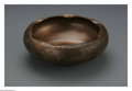 Decorative Accessories: , An American Copper Bowl. Mark of Roycroft, East Aurora, NY, c.1930. The inverted pinched rim copper bowl, marked underside...