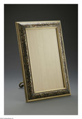 Decorative Arts, Continental:Other , A French Boulle Marquetry Frame. Maker unknown, Late NineteenthCentury. The boulle marquetry frame with tortoise, brass a...
