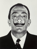 Photographs, Philippe Halsman (American, 1906-1979). Dalí's Mustache, 1954. Gelatin silver, 1981. 12-3/4 x 9-7/8 inches (32.4 x 25.1 ...