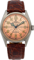 Timepieces:Wristwatch, Rolex Ref. 6084 Steel Oyster Perpetual Chronometer, circa 1952. ...