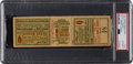 Baseball Collectibles:Tickets, 1921 World Series Game Six Full Ticket - From New York YankeesFirst Fall Classic Appearance!...