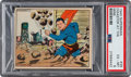 "Non-Sport Cards:Singles (Pre-1950), 1940 Superman ""Disaster At The Mine"" #39 PSA EX-MT 6...."