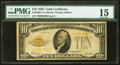 Small Size:Gold Certificates, Fr. 2400* $10 1928 Gold Certificate Star. PMG Choice Fine 15.. ...