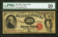 Large Size:Legal Tender Notes, Fr. 147 $20 1880 Legal Tender PMG Very Fine 20.. ...