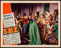 "Movie Posters:Fantasy, She (RKO, 1935). Lobby Card (11"" X 14""). Fantasy.. ..."