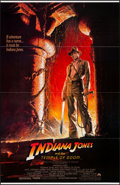 "Movie Posters:Adventure, Indiana Jones and the Temple of Doom (Paramount, 1984). One Sheet(27"" X 41""). Flat Folded. Adventure.. ..."