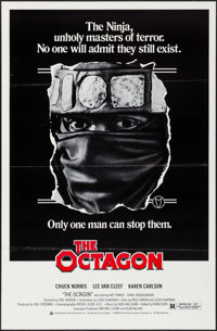"The Octagon & Others Lot (American Cinema, 1980). One Sheets (3) (27"" X 41"") Flat Folded. Action. ... (Tot..."