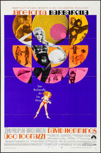 "Barbarella (Paramount, 1968). One Sheet (27"" X 41"") Style B. Science Fiction"
