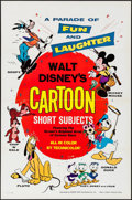 "Movie Posters:Animation, Walt Disney's Cartoon Short Subjects (Buena Vista, R-1977). OneSheet (27"" X 41""). Animation.. ..."