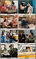 """Movie Posters:Crime, Taxi Driver (Columbia, 1976). Mini Lobby Card Set of 8 (8"""" X 10"""").Crime.. ... (Total: 8 Items)"""