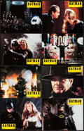 "Movie Posters:Action, Batman (Warner Brothers, 1989). French Lobby Card Set of 12 (8.5"" X10.75""). Action.. ... (Total: 12 Items)"