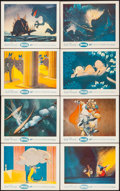 "Movie Posters:Animation, Fantasia (Buena Vista, R-1956). British Front of House Color Photo Set of 8 (8"" X 10""). Superscope Style. Animation.. ... (Total: 8 Items)"