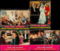 "Movie Posters:Academy Award Winners, Gone with the Wind (MGM, R-1960s). Italian Photobustas (4) (18.75""X 26.75). Academy Award Winners.. ... (Total: 4 Items)"