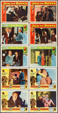 """Movie Posters:Mystery, Bluebeard's Ten Honeymoons & Others Lot (Allied Artists, 1960).Lobby Cards (10) (11"""" X 14""""). Mystery.. ... (Total: 10 Items)"""