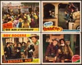 "Movie Posters:Western, The Arizona Kid & Other Lot (Republic, 1939). Overall: VeryFine-. Lobby Cards (4) (11"" X 14""). Western.. ... (Tota..."