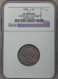 Half Cents, 1800 1/2 C C-1, B-1, R.1, -- Improperly Cleaned -- Details NGC. VF. PCGS Population: (1/11). CDN: $205 W...