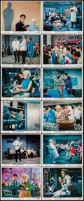 """Movie Posters:Comedy, The Nutty Professor (Paramount, 1963). Color Photo Set of 12 (8"""" X 10""""), & Photos (7, R-1967) (8"""" X 10""""). Comedy.. ... (Total: 19 Items)"""
