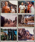 "Movie Posters:Adventure, Tarzan Goes to India & Other Lot (MGM, 1962). Color Photo Setsof 12 (2) (8"" X 10""). Adventure.. ... (Total: 24 Items)"