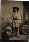 "Photography:Tintypes, ""Texas Jack"" Omohundro: An Important, Previously-unseen TintypePhoto.. ..."