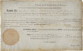 Autographs:U.S. Presidents, Thomas Jefferson Document Signed...