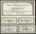 Obsoletes By State:Arizona, Bisbee, AZ- Miners & Merchants Bank Deposit Certificate $50Nov. 19, 1914. ... (Total: 3 items)