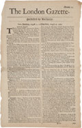 Miscellaneous:Newspaper, [Holmes' Bonfire of 1666 and the Second Anglo-Dutch War]. TheLondon Gazette, Numb 79. ...