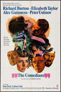 """The Comedians (MGM, 1967). One Sheets (2) (27"""" X 41"""") Style A & B. Drama. ... (Total: 2 Items)"""