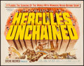 "Movie Posters:Action, Hercules Unchained (Warner Brothers, 1959). Half Sheet (22"" X 28"").Action.. ..."