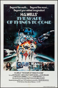 """The Shape of Things to Come (Film Ventures International, 1979). Identical One Sheets (10) (27"""" X 41""""). Scienc..."""