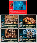"Movie Posters:James Bond, Moonraker & Other Lot (United Artists, 1979). Lobby Cards (5)(11"" X 14""). James Bond.. ... (Total: 5 Items)"