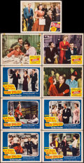 """Movie Posters:Musical, Daddy Long Legs & Others Lot (20th Century Fox, 1955). Lobby Cards (9) (11"""" X 14""""). Musical.. ... (Total: 9 Item)"""
