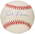 Autographs:Baseballs, Rod Laver Single Signed Baseball....