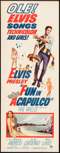 "Movie Posters:Elvis Presley, Fun in Acapulco (Paramount, 1963). Insert (14"" X 36""). ElvisPresley.. ..."