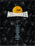 """Movie Posters:James Bond, Moonraker & Others Lot (United Artists, 1979). Exhibitor Promos (3) (4 Page Fold-Out, 10.5"""" X 14"""" & 11"""" X 15"""" Folded, 21"""" X ... (Total: 8 Items)"""