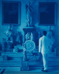 Photographs:Cyanotype, John Dugdale (American, b. 1960). Palazzo Doria Pamphilij (RomanHall of Antiquities), 1997. Cyanotype. 8 x 10 inches (2...